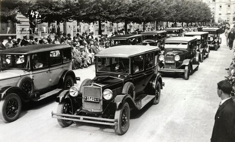 Vor 90 Jahren: Gründung des Damenautomobilclubs