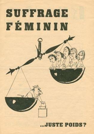 Suffrage féminin