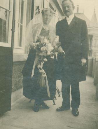 Hochzeit von Else Spiller