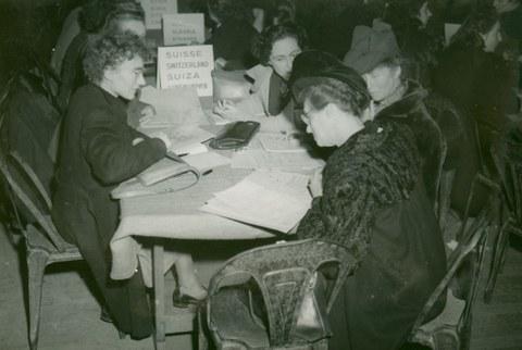 Internationaler Frauenkongress Paris 1945