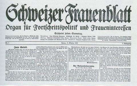 Schweizer Frauenblatt